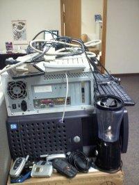 Sprzęt komputerowy do utylizacji