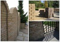 Elementy małej architektury - ogrodzenia i murki