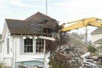 wyburzanie domu