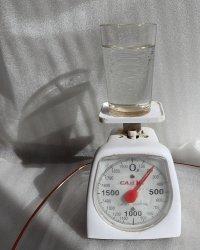 mała waga na wodę