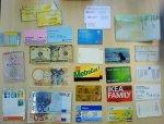 Karty z programów lojalnościowych