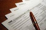 formularze i długopis