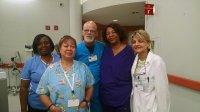 Pielęgniarki w szpitalu
