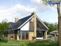 Projekt domu jednorodzinnego Amber